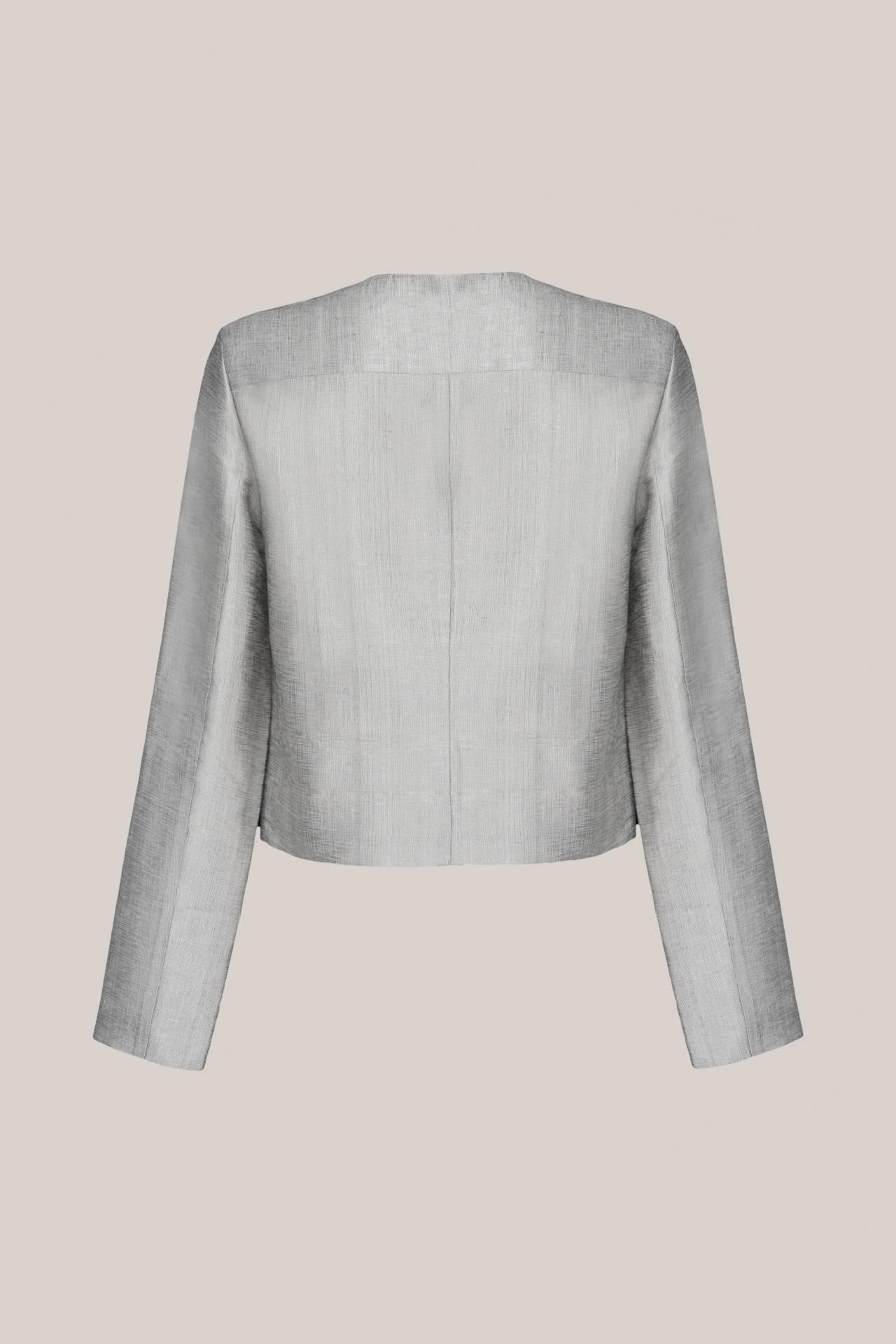 Tilda Jacket Silver Rückansicht