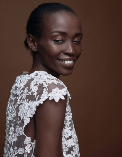 Bridal Lace Top Blossom by Magdalena Mayrock Berlin