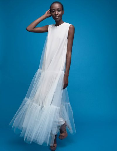 Designer Bridal Tulle Dress Chloé by Magdalena Mayrock Berlin