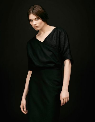 Black Designer Dress by Magdalena Mayrock Berlin