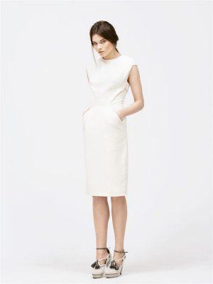 Faye Short Designer Bridal Dress by Magdalena Mayrock Berlin