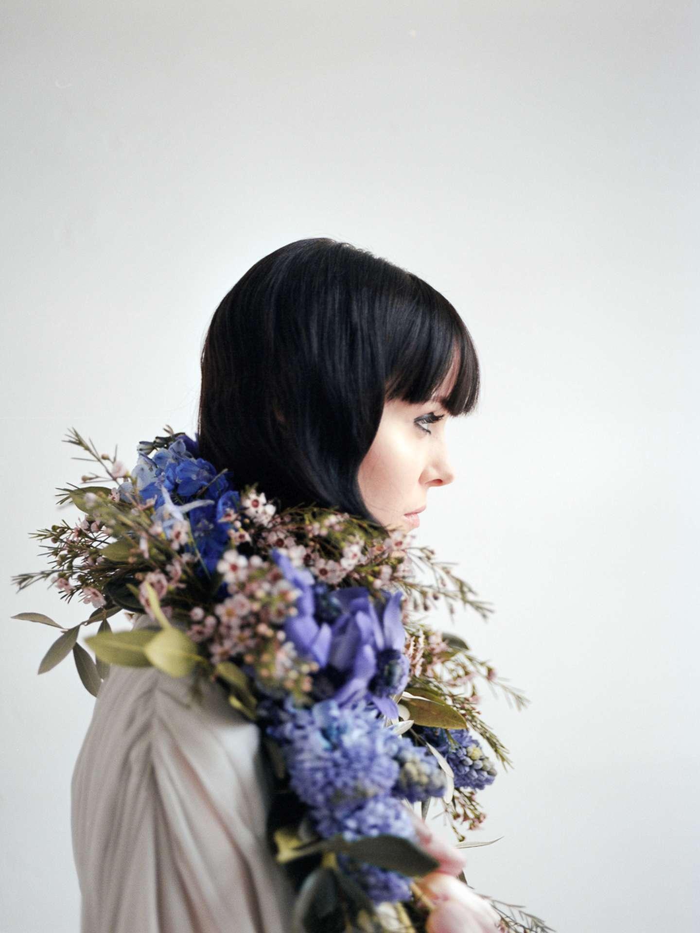 Designer Brautmode Zweiteiler von Magdalena Mayrock Berlin