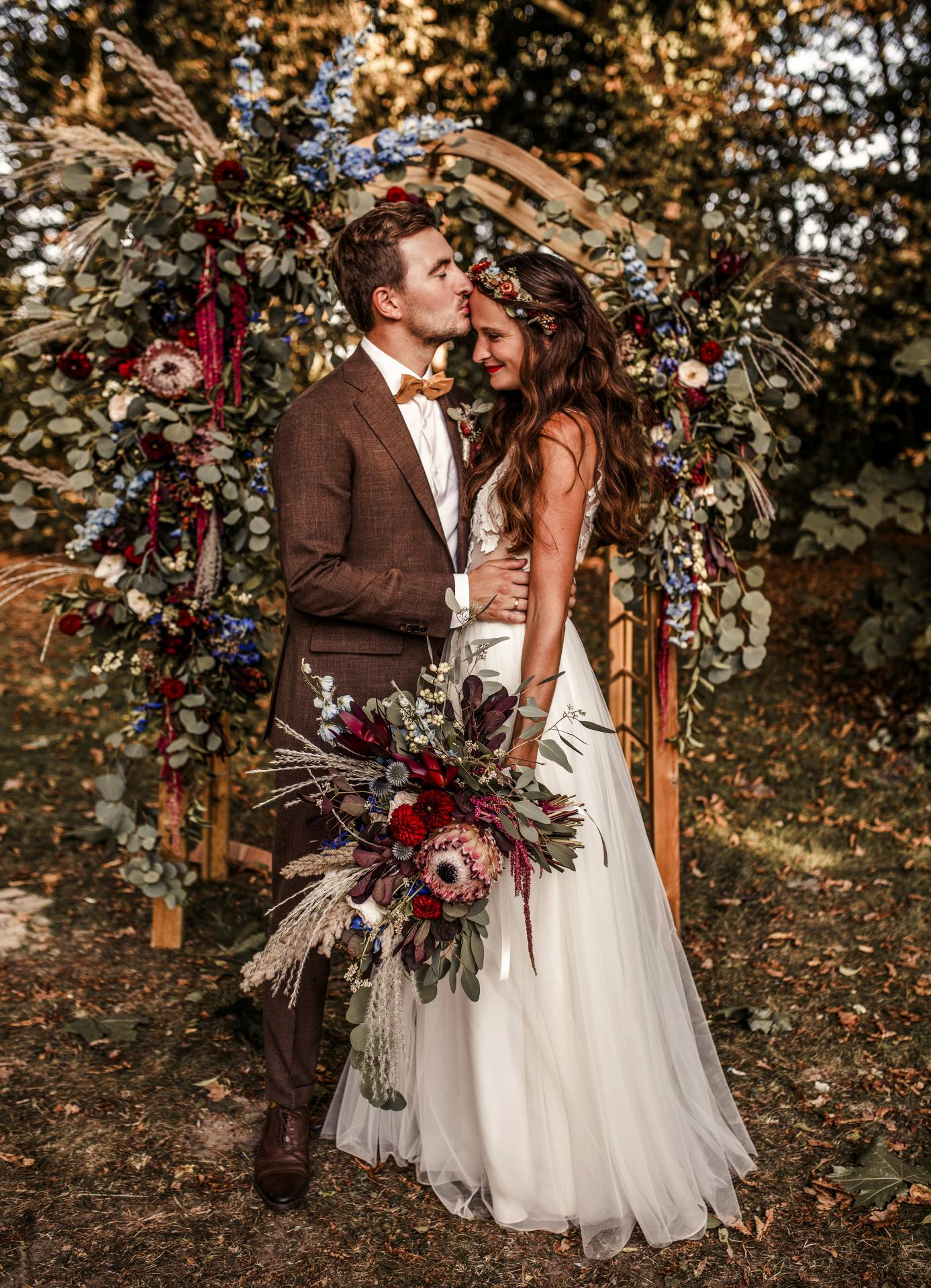 Hochzeitspaar Claudia Gerhardt